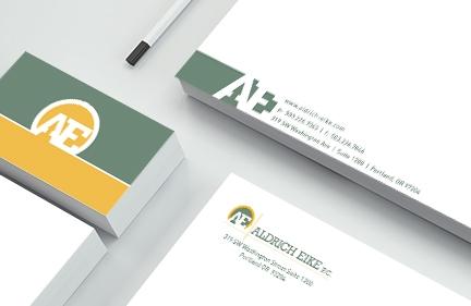Aldrich Eike Branding