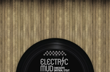 Electric Mud Beer Label