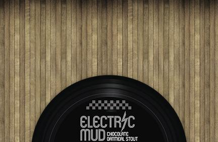 Electric Mud Beer Label