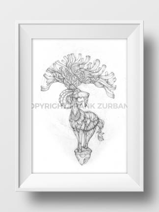 """Root of Capracornus"" Print"